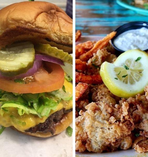 paradise key restaurant burger